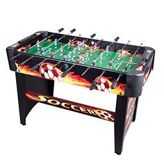 Pinty Foosball Table Soccer Table 48u0027u0027 MDF Construction For Family Use Game  Room (