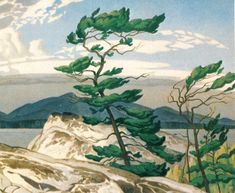 Art prints by Lawren Harris, Emily Carr, Tom Thomson and other members of the Group of Seven Canadian Painters. Tom Thomson, Emily Carr, Canada Landscape, Landscape Art, Landscape Paintings, Group Of Seven Artists, Group Of Seven Paintings, Canadian Painters, Canadian Artists
