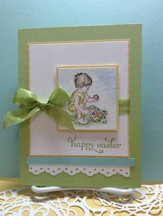 Heaven Blessed Egg Hunt by kperry57 - Cards and Paper Crafts at Splitcoaststampers