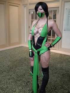 Jade - Mortal Kombat cosplay