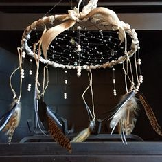Boho Crystal Dream Catcher