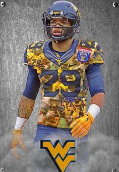 Wvu Mountaineers Football, Wvu Football, Football Helmets, Wvu Sports, West Virginia, Blue Gold, Captain America, Southern, Superhero