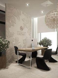 what a pretty office space! i want one