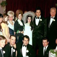 Wedding party, Las Vegas, May 1, 1967