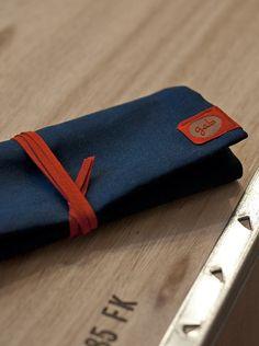 P.EN Pencil case blue/red by goodsandbetter on Etsy