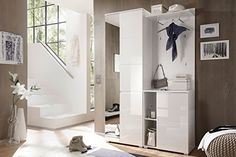 Garderobe weiss hochglanz/ weiss First-Look http://www.amazon.de/dp/B019HEHXYA/ref=cm_sw_r_pi_dp_QTbaxb0S4XWPA