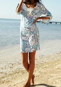 Lilly Pulitzer Sarah Tunic Dress in Shape Up Or Ship Out