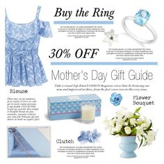 """""""Mother's Day Specials/30% off"""" by blossom-jewels ❤ liked on Polyvore featuring Vera Bradley, Whistles and Anja"""