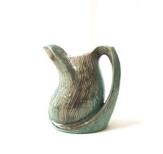 vintage gonder originals pottery pitcher by RecycleBuyVintage, $25.00