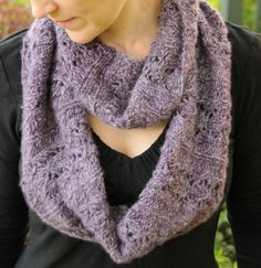 Mink Brocade Large Cowl by Kirsten D | Knitting Pattern - Looking for your next project? You're going to love Mink Brocade Large Cowl by designer Kirsten D. - via @Craftsy