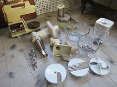 Oster Regency Kitchen Center Blender Mixer Food Processor Vintage #Oster