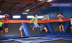 Groupon - Two 60-Minute Jump Passes for Indoor Trampolining at Sky Zone Van Nuys (Up to 50% Off)  in Van Nuys. Groupon deal price: $15