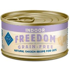 Blue Buffalo Freedom Grain-Free Indoor Adult Chicken Recipe - 24x3 oz ** Check out @