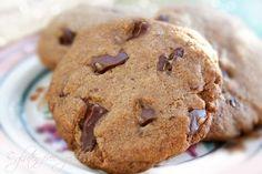 Gluten-Free Dark Chocolate Chunk Cookies from Karina