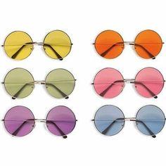 Brille-verschiedene-Farben-Bunt-Flower-Power-Hippie-70er-Jahre-Disco-Mottoparty