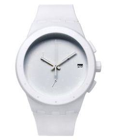 white watch for summer
