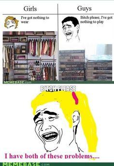 #gamerproblems | Gamer Girl Problems