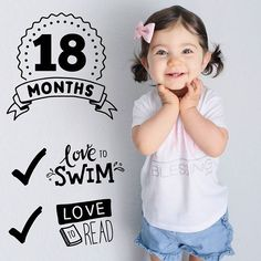 18 months old! Use Little Nugget app to chart toddler height & weight growth milestones by adding custom artwork & personalized text to your child photos in seconds. Safely save your photos in a private feed or share them on social media! A must-have for moms and moms-to-be!  Take pictures monthly of your child or toddler & add their growth, weight & height, along with special milestones, through their first year & beyond. Pregnancy Bump, Pregnancy Photos, Pregnancy Announcements, 18 Month Old, Baby Month By Month, Toddler Growth Chart, Toddler Milestones, Monthly Baby Photos, O Love