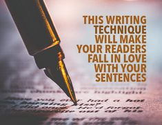Writing Techniques: How to Use Euphonics to Make Your Prose Sing When it comes to prose, your story is the most important part. But writing techniques like euphonics can add extra shine so readers love your sentences. Creative Writing Tips, Book Writing Tips, Writing Words, Fiction Writing, Writing Quotes, Writing Resources, Writing Help, Writing Skills, Writing Prompts