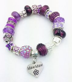 Maw Maw European Bracelet by Graceandliz on Etsy
