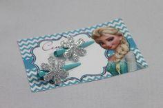Presilha Floco de Neve da Elsa - Frozen Disney.  cenarium.arte@hotmail.com