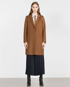 ZARA - WOMAN - HAND MADE COAT