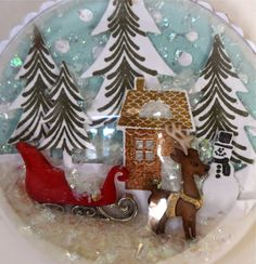 Marybeth's time for paper: A Few More Papertrey Ink Snow Globes