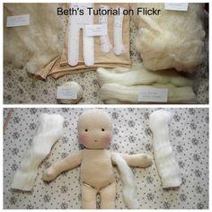como hacer muñecas de trapo