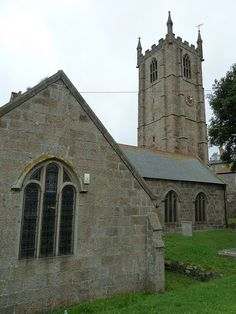 St. Ia, the parish church of St. Ives Cornwall by woodytyke, via Flickr