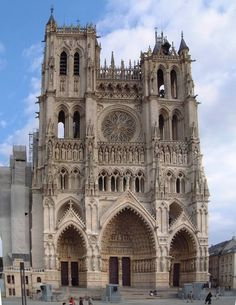 Cathedral in Amiens, France.