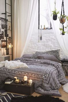 17+ Bohemian Bedroom Decor You'll Like. If You Do, Which One Do You Like the Most? :)