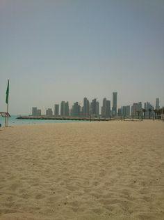 one of the beaches Doha
