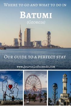 Our guide to Batumi, the jewel of the Black Sea in Georgia. We lived here for three months and made a list of our favorite places and things to do!