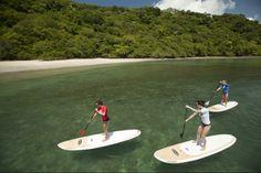 Paddle boarding in Costa Rica