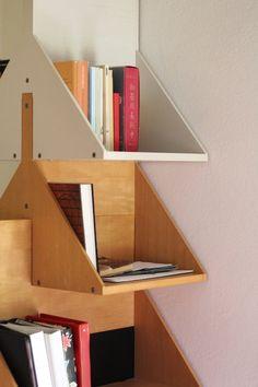 Ugo La Pietra :: Modular Bookcase