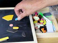 B01CY9D3T4  Child Club  Tribe Puzzles en Bois Magnétique Jouets Educatif...