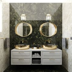 Lúxusná kúpeľňa 3D návrh - vizualizácia Double Vanity, Bathroom, Washroom, Full Bath, Bath, Bathrooms, Double Sink Vanity