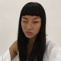 Huge 2020 Hairstyle List: The 9 Hottest Trends To Be Obsessed With Hair Inspo, Hair Inspiration, Pretty People, Beautiful People, Baby Bangs, Pretty Face, Hair Goals, Asian Beauty, Makeup Looks