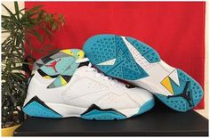 5a2019ab5d37f2 Cheap New Air Jordan 7 White Dark Turquoise-Black-Ice Cube Blue Sale from  Reliable Big Discount! Cheap New Air Jordan 7 White Dark Turquoise-Black-Ice  Cube ...