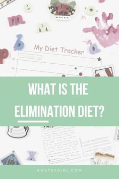 The Elimination Diet - A Gutsy Girl Diet Tracker, Girls Bible, Presents For Girls, Adrenal Fatigue, Gut Health, Health Coach, Autoimmune, Natural Healing, Healthy Lifestyle