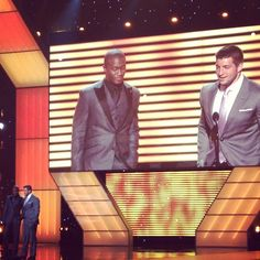 "Tim Tebow on winning the""Best Sports Moment"" award at the  2012 ESPYS."