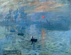 Клод Моне «Впечатление. Восход солнца»