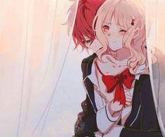 Diabolik Lovers (More Blood)- Ayato x Yui ディアラバ (ディアボリックラヴァーズ) Vampire Love, Vampire Art, Vampire Knight, Girls Anime, Cute Anime Boy, Cute Anime Couples, Diabolik Lovers Ayato, Ayato Sakamaki, Anime Kiss