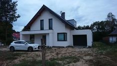 Projekt domu Arystoteles 144,50 m² - koszt budowy - EXTRADOM Roof Design, House Design, Modern Bungalow Exterior, Design Case, Home Fashion, House Plans, Shed, Outdoor Structures, How To Plan