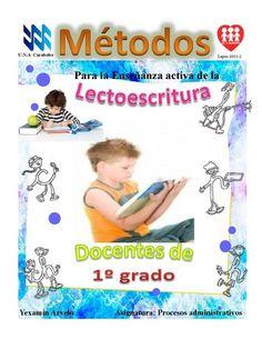 MÉTODOS DE LECTOESCRITURA  PARA 1º GRADO...
