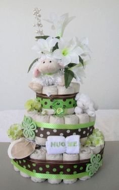 Diaper Cake for Erin