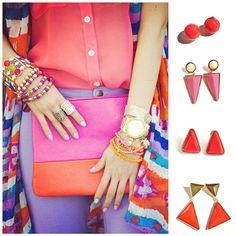 Tendencia Full-Color ¿a quien le gusta? #vicool #VivaLaModa #Chile #Fashion #Girly #Stylish #Bohemian #Bohemio #Bohemian #Accesorizate #Cool #Accesories #Accesorios #Mujer #Women #Fashionable #ALaModa #Moda #Estilo #Femenino #Diseño #Glamour #HippieChic #Bohemian #BohoChic   www.vicool.cl