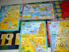 bibleinmylanguage - 4 Full Color Sunday School Classroom Large Bible Theme Wall Maps, English–Chinese Bilingual Edition, $39.99 (http://bibleinmylanguage.com/4-full-color-sunday-school-classroom-large-bible-theme-wall-maps-english-chinese-bilingual-edition/)