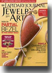Not only are we featuring 10 amazing jewelry designs but offering a retrospective of sorts on some favorite issues of Lapidary Journal Jewelry Artist - WOW! Soldering Jewelry, Mixed Media Jewelry, Jewelry Making Tools, Simple Jewelry, Jewelry Trends, Jewelry Ideas, Jewelry Crafts, Jewelry Design, Jewellery Box