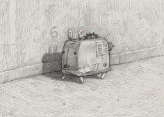 Shaun Tan - Home-madewombat